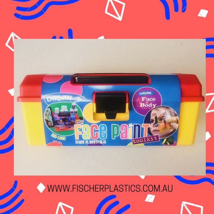 Check this out! @DerivanMatisse has used our Hobby Boxes to store their Face Paint Kit! This toolkit stores all the paint, sponges, water jars, face art book and paintbrushes and a colour chart. It is perfect for on the go storage and keeps all the contents safe and secure.
