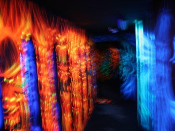 The 3D maze at Enchanted Maze Garden