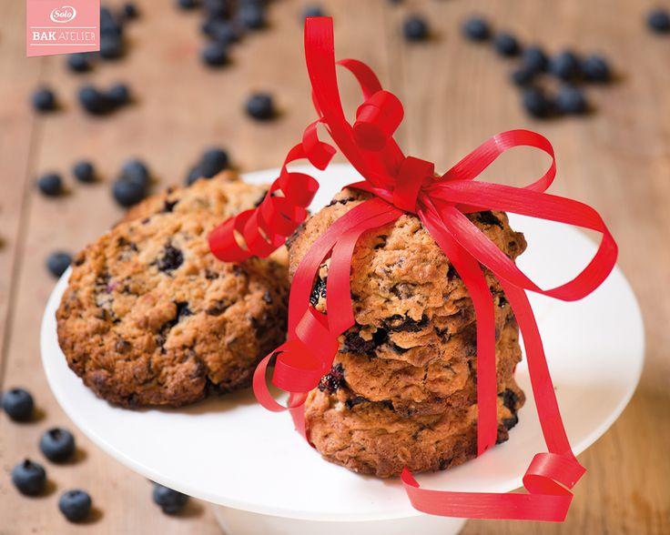 Workshop Cookies met chocolade en blauwe bessen