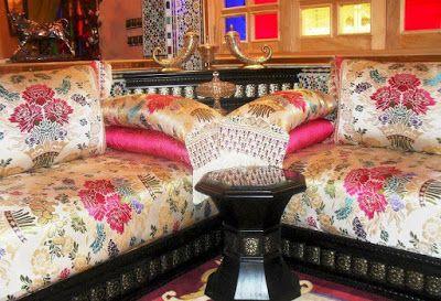 Salon marocain design exceptionnel