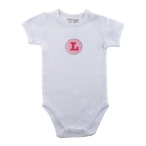 Hudson Baby Personalized Initial Bodysuit - L, Girl (Apparel)  http://howtogetfaster.co.uk/jenks.php?p=B002IC0TBI  B002IC0TBI