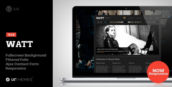 WATT Creative Studio Wordpress Template