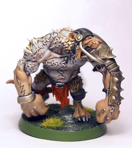 Blood Bowl Rat Ogre conversion | Bloodbowl | Pinterest ...