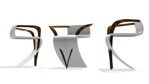 La roche chair: Modern Chairs, Idea, Milla Rezanova, Chair Design, La Roche, Modern Furniture Design, Laroche Chair, Design Design