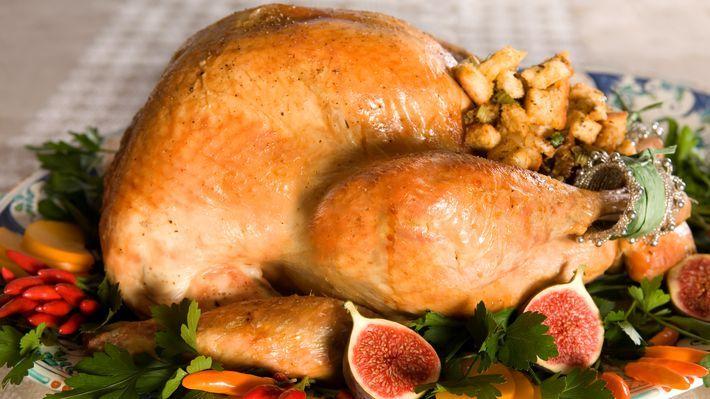 MatPrat - Thanksgiving-kalkun med løk- og selleristuffing