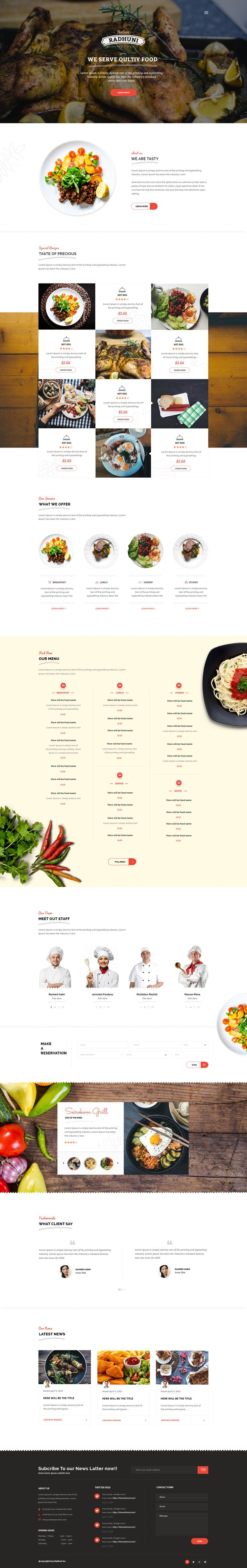 Italian Radhuni - Food & Resturant WordPress Theme #wordpress #pizza #chef • Download ➝ https://themeforest.net/item/italian-radhuni-food-resturant-wordpress-theme/12006256?ref=pxcr