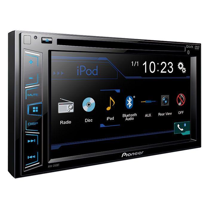 Video In-Dash Units w o GPS: Pioneer Avh-290Bt Double 2 Din Car Dvd Mp3 Cd Player 6.2 Touchscreen Bluetooth -> BUY IT NOW ONLY: $197.9 on eBay!