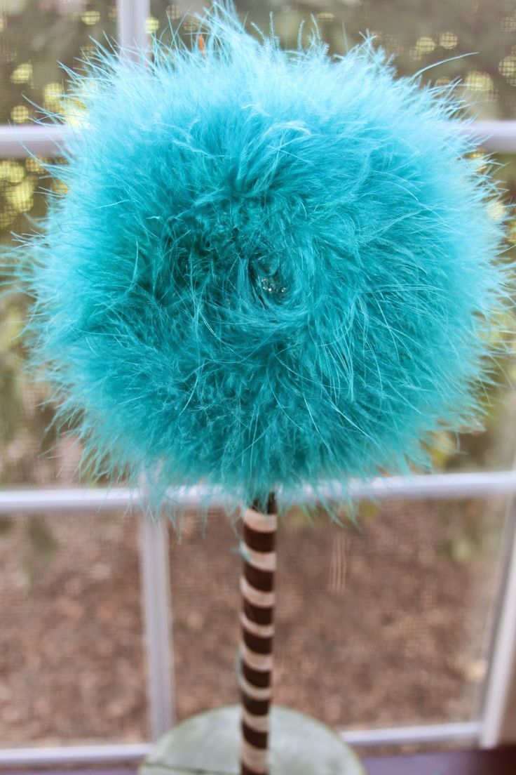DIY TRUFFULA TREE OR FLOWER - Easy to DO!!! A Must Pin for School, Parties, Dr. Suess Themed Decor