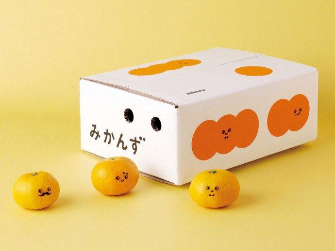 輕鬆可愛的橘子包裝識別 | MyDesy 淘靈感