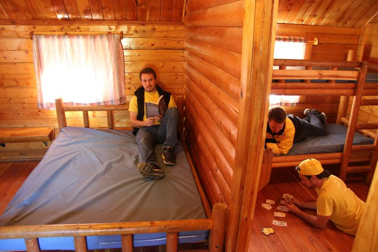 Need a little privacy while camping.  This 2 Room Cabin will give you just that.  With two separate rooms, Mom and Dad can get some sleep while the kids stay up playing game!