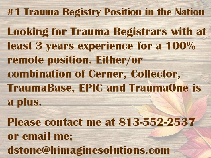 27 best Healthcare Jobs images on Pinterest - trauma registrar sample resume