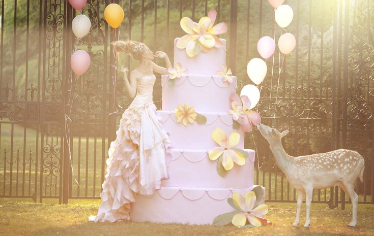 Fairy Tale by Amber Gray #deer: Bride Magazines, Big Cakes, Bridal Photography, Amber Gray, Ambergray, Photo Booths, Weddings Dresss, Happy Weekend, Fairies Tales