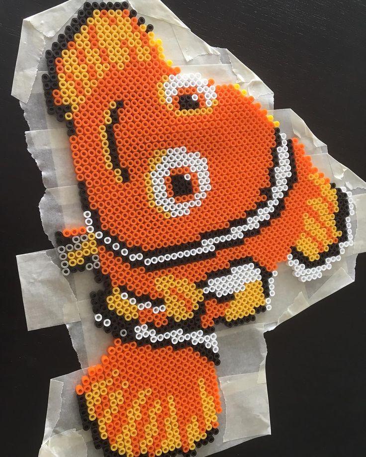 Nemo nabbi beads by linda_jsson