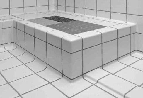 pro architectura tegels van villeroy boch nooit meer vieze voegen in of op hoeken badkamer. Black Bedroom Furniture Sets. Home Design Ideas