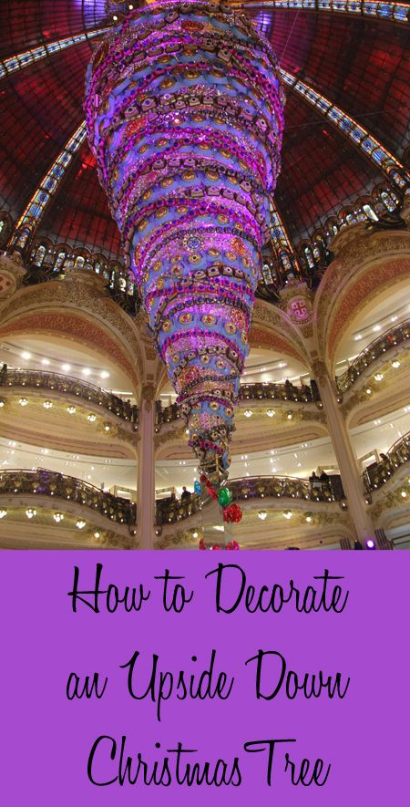 If you are wanting to decorate your Christmas tree a little differently this year, consider decorating an upside down Christmas tree. Upside down Christmas trees are space saving since the largest part of the tree is high in the air. T...