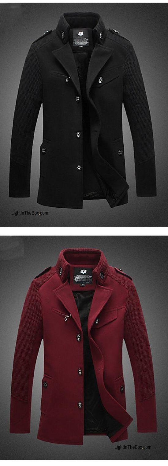 Men's Daily Casual Long Sleeve Fall Jackets