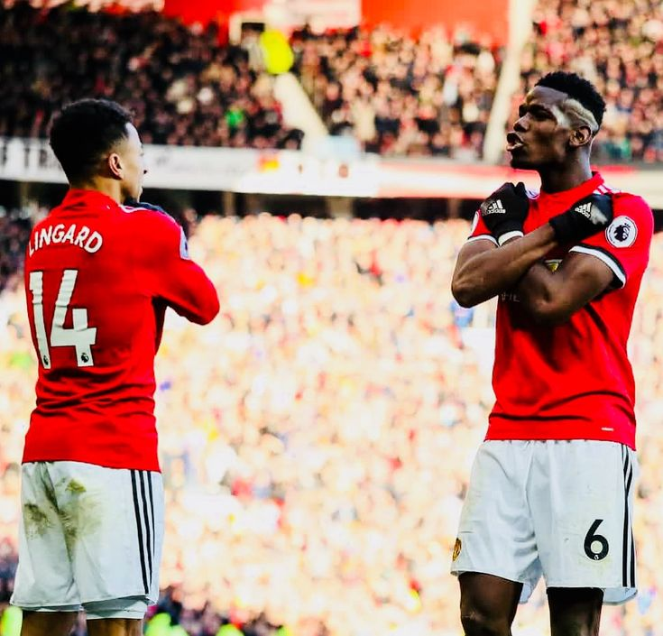 Week 28 : Man Utd - Chelsea - Jesse Lingard and Paul Pogba (Photo credit : Matthew Ashton - AMA/Getty Images)