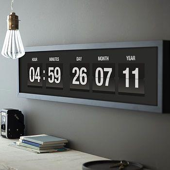 Coolest clock/ calendar / TechNews24h.com #technews24h