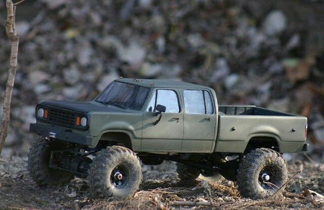 Custom Dodge Axial Scx10 Truck