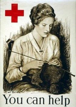 World War I propaganda poster
