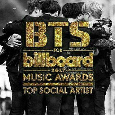 Vote for @BTS_twt for Billboard 2017 Music Awards Top Social Artist #BTSBBMAs
