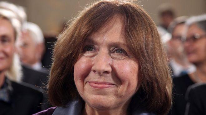 Svetlana Alexievich,Nobel Prize in Literature 2015,Beiarusian!