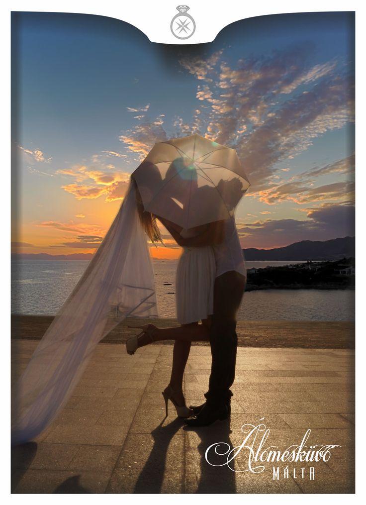 Kreatív fotózás, Málta, Álomesküvő Máltán, tengerpart, esküvői fotózás