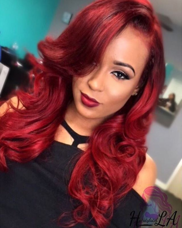 Red Hairstyles Unique 119 Best Red Hairstyles Images On Pinterest  Black Girls Hairstyles