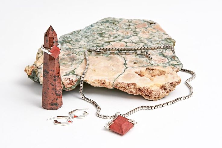 Cathy Pope Jewellery | Snowflakes and Jasper Collection