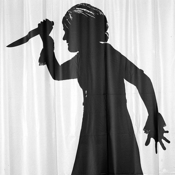 Shower curtain / cortina de ducha / Rideaux de duche. Modelo Mama Killer de: Agustí Garcia. Made in Barcelona. www.cha-cha.es