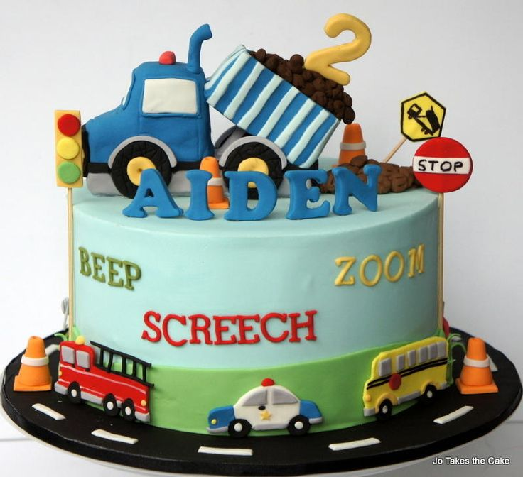 Vehicles cake - Cake by JoTakestheCake