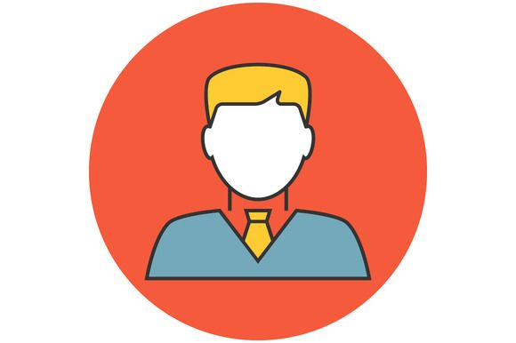 Businessman avatar icon @creativework247