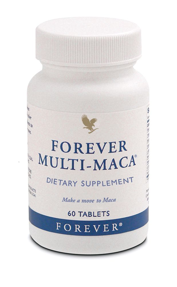 Forever Living - Forever Multi-Maca. Legendary Peruvian herb with a 2000 year history as a powerful enhancer of libido that also supports reproductive health. Helps maintain stamina and prevents fatigue. Use regularly for maximum performance. http://www.aloevera2u.com