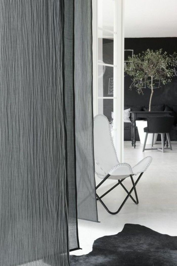 rideaux plus de 10 id es s lectionn es pour d couvrir d coration int rieure rideaux en lin. Black Bedroom Furniture Sets. Home Design Ideas