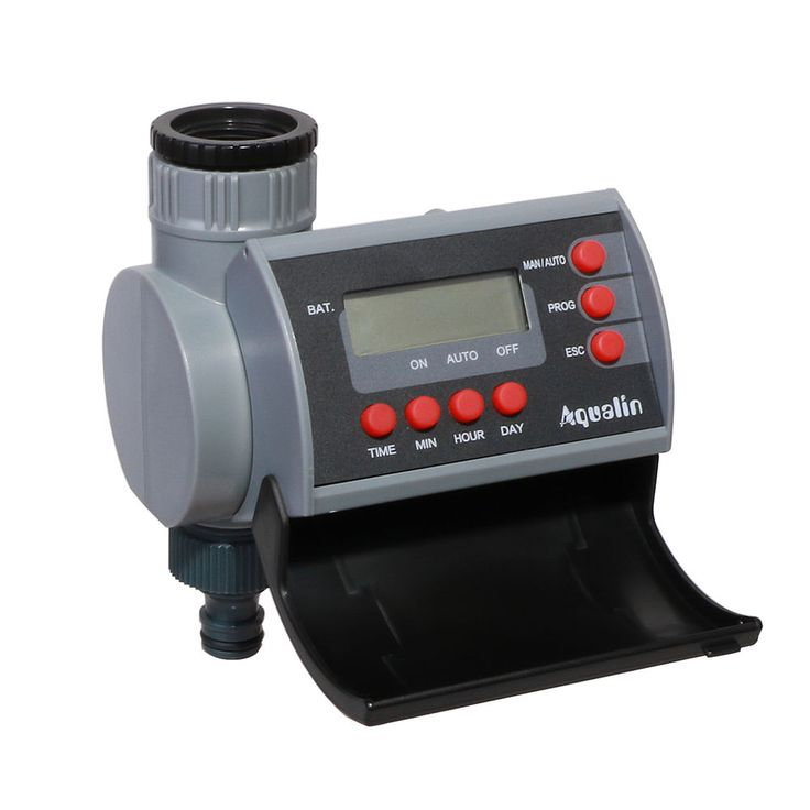 Solenoid Valve Electronic Digital Hose Water Timer Garden Irrigation LCD  Display