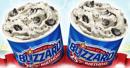 FREE Dairy Queen Blizzard on your Birthday with Purchase  http://www.thefreebiesource.com/?p=1039