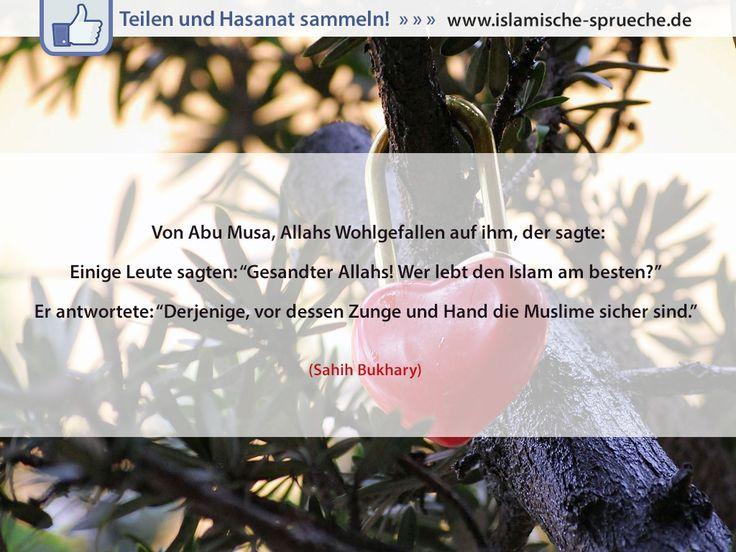 Den Islam Am Besten Leben Http://islamische Sprueche.de/hadith