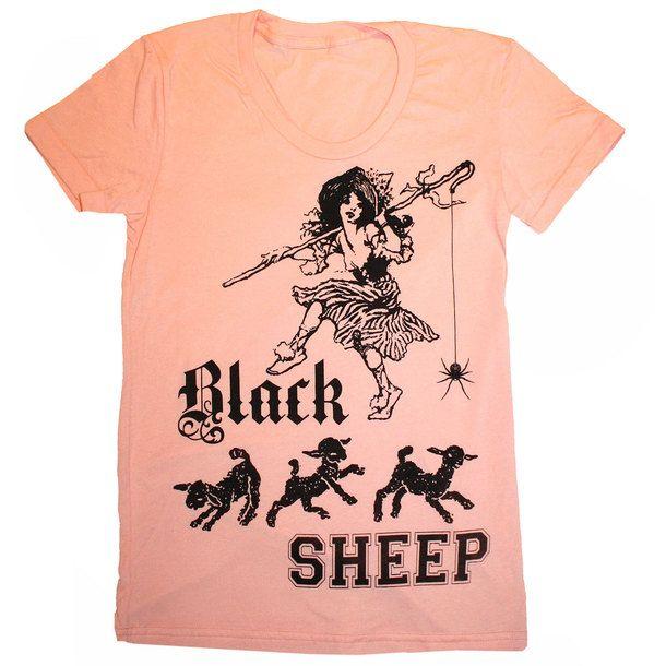 want. Black Sheep Tee Women's