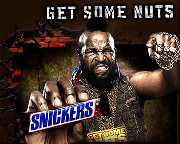 Snickers Chocolate Bar Commercial
