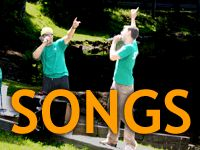 """Not just for scouts - whenever you are faced with a large group of kids, nothing gets them moving like a """"repeat after me"""" song or two! Definite lifesaver when you have idle time. Songs with lyrics and videos for you to learn!"""