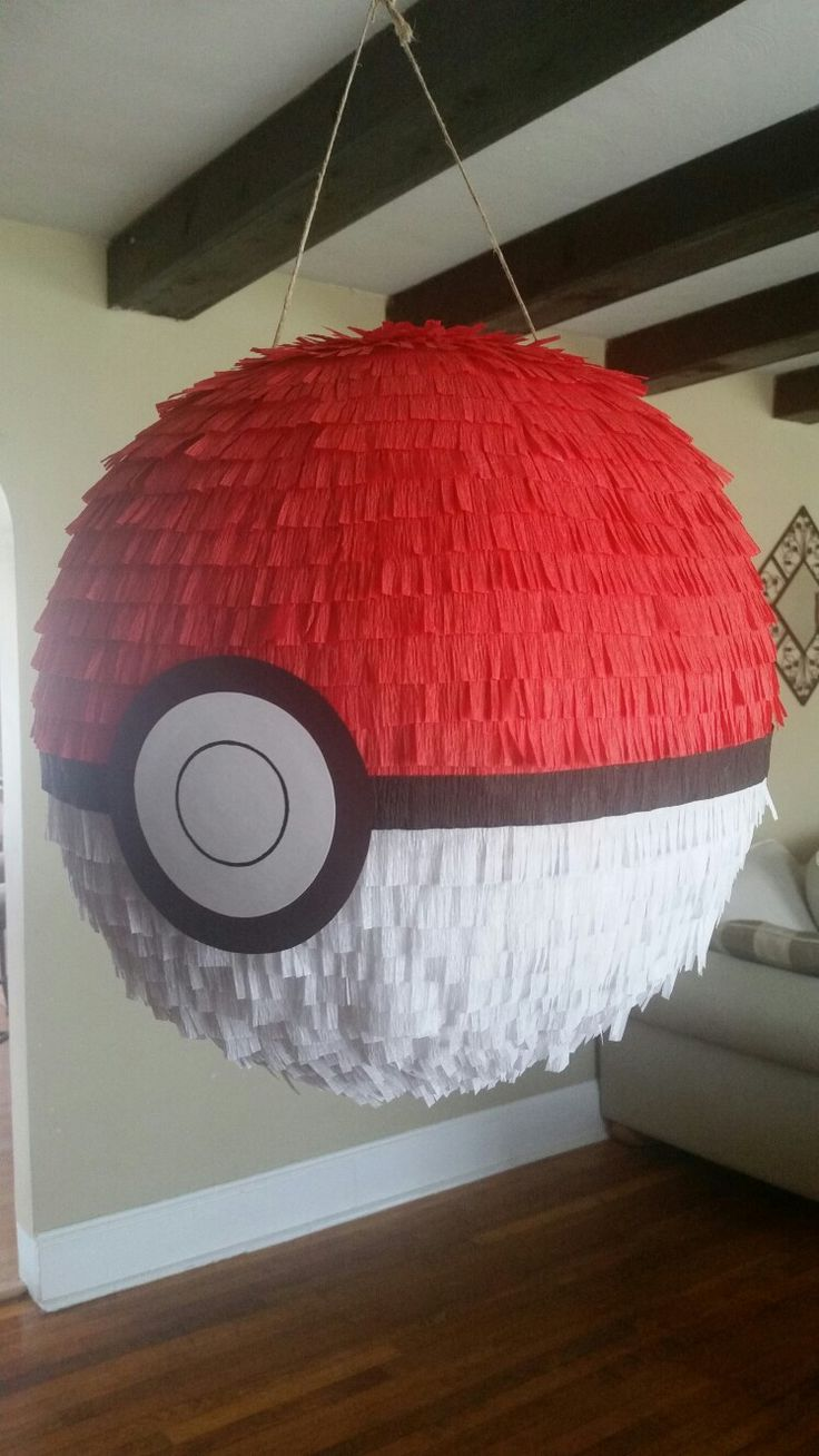 25 best ideas about pokeball cake on pinterest pokemon for Paper mache craft ideas