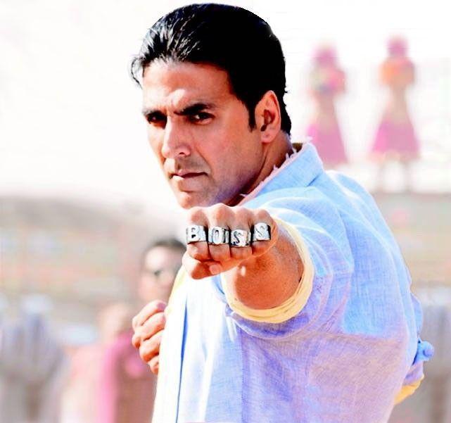 Akshay Kumar the boss
