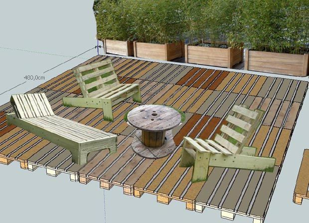 25 best ideas about terrasse en palette on pinterest - Terrasse en palette de bois ...