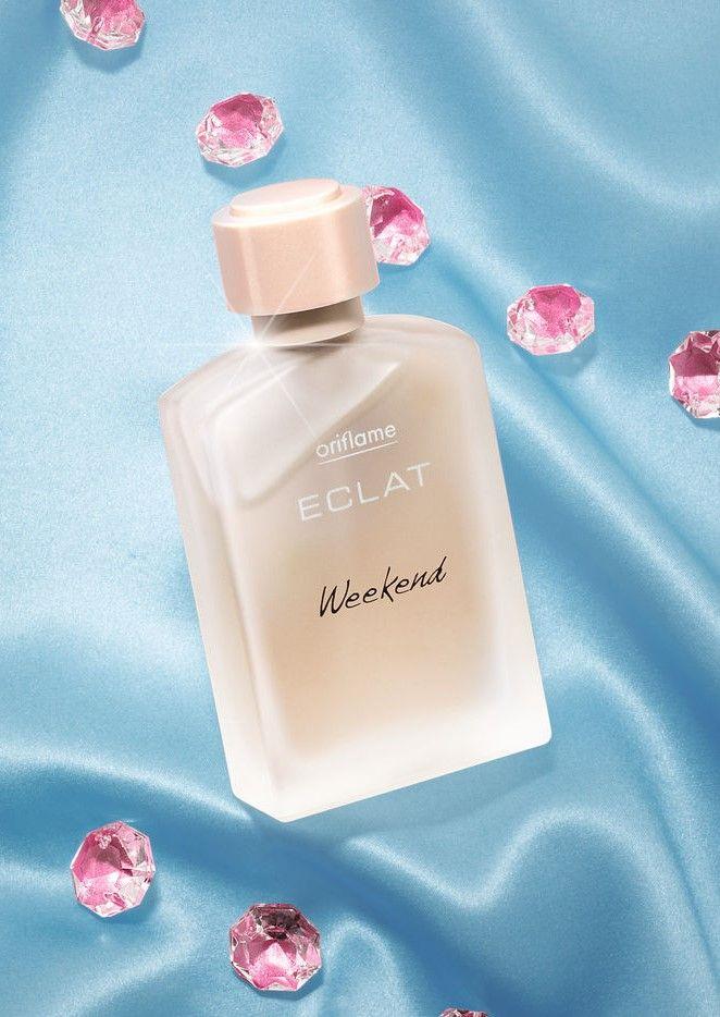 Blumige Noten + ein warmes Amber-Herz = ein Duft mit Stil und Persönlichkeit! Eclat Weekend Eau de Toilette  #mode #style #duft #parfum #parfüm