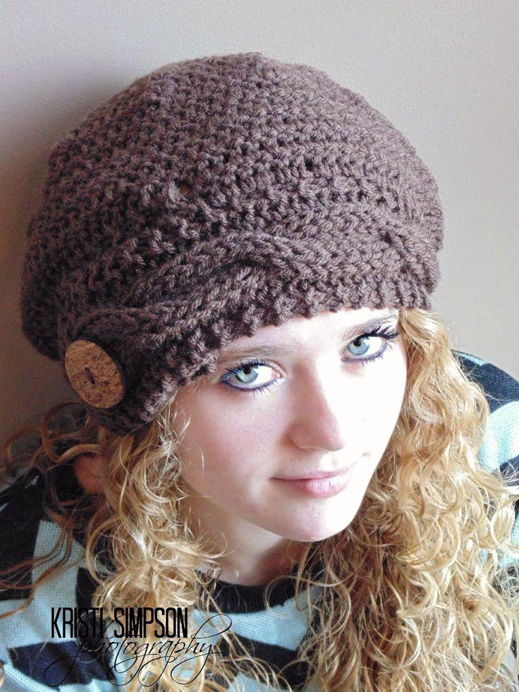 FREE slouchy hat pattern, knit pattern, crochet pattern, www.rakjpatterns.com