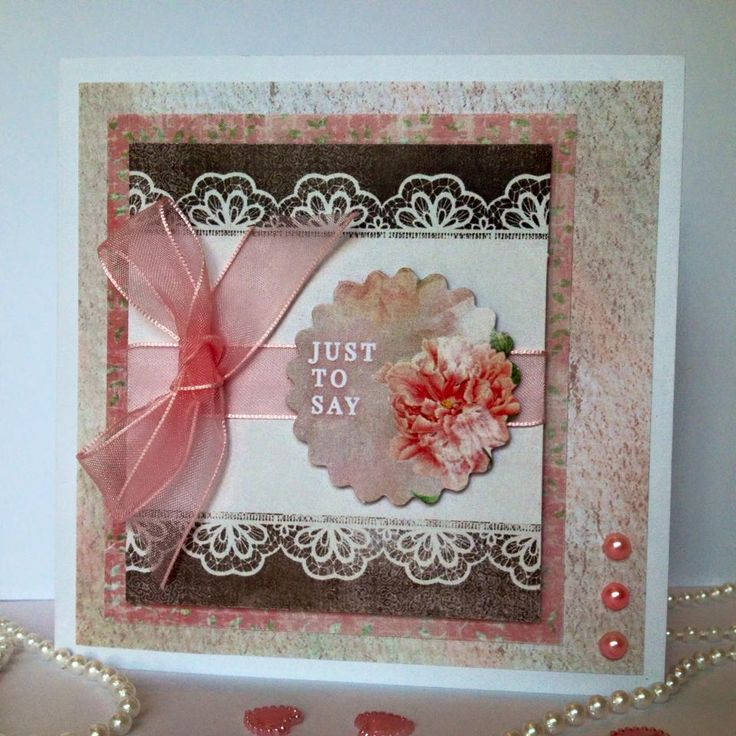 Designed by Nicky Gilburt for Craftwork Cards using Antiqued collection, 12x12cm…