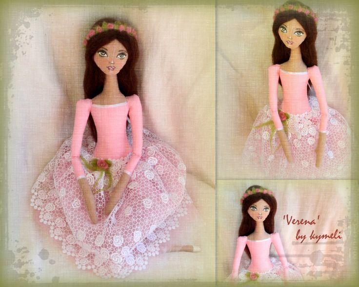 'Verena' OOAK Art Doll Ballerina by kymeli
