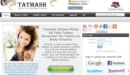 TatMash: simulador de tatuagem