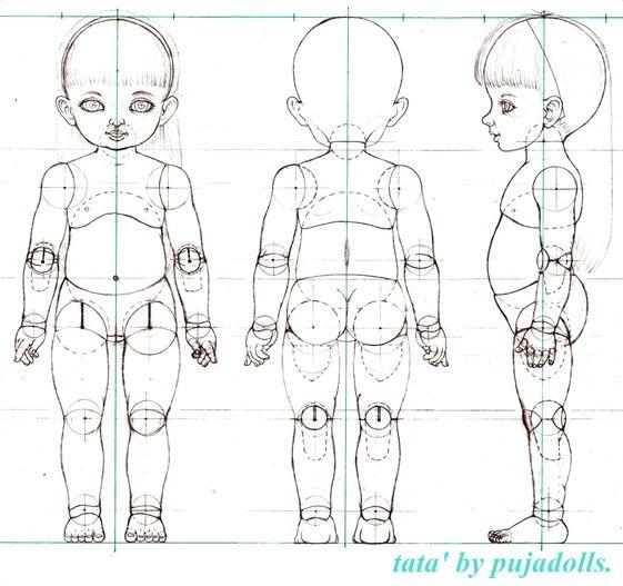 "BJD tailandés ""MUÑECAS Puja"": taller de BJD, Modelo: TATA 'tamaño de 60 cm."