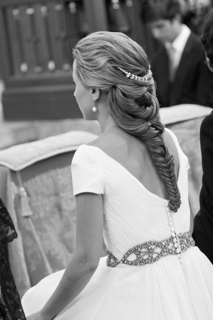 Weddings Haair - Peluqueria Mayte Lucas - Trenza de espiga - Fotorafia Arancha Sandua